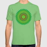 SHRADDHAA Mens Fitted Tee Grass SMALL