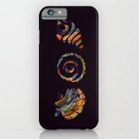 Deep Sea Shell Trio iPhone 6 Slim Case