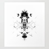 Organic Fracalism  Art Print