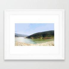 Thomson Reservoir  Framed Art Print