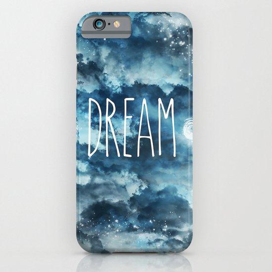 Dream in Blue iPhone & iPod Case