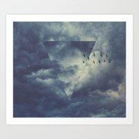 Sky Forms Art Print
