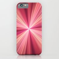 Pink Rays Abstract Fract… iPhone 6 Slim Case
