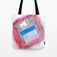 disk Tote Bag