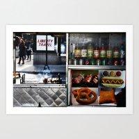 Vendor Art Print