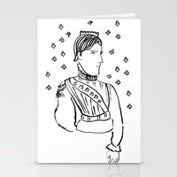 King of Clubs Stationery Cards