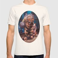 Bioshock Mens Fitted Tee Natural SMALL