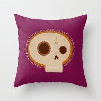 Day Of Death / Día De L… Throw Pillow