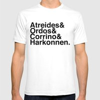 Houses Mens Fitted Tee White SMALL