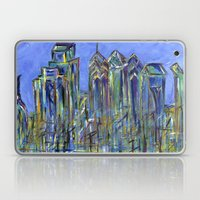 Blue Philadelphia Skylin… Laptop & iPad Skin