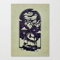 Time Heals Canvas Print