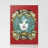 Legend of the Sea Wolf Stationery Cards