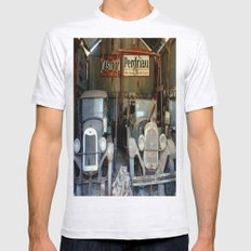 A Restorer's dream! Mens Fitted Tee Ash Grey SMALL