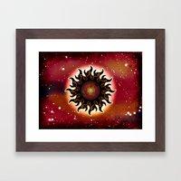 DECEMBER SUN - 290 Framed Art Print