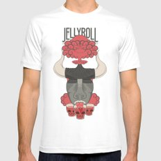Jellyroll #3 Mens Fitted Tee White SMALL