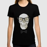 Nerd4ever Womens Fitted Tee Black SMALL