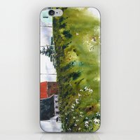 Houses At The Cap iPhone & iPod Skin