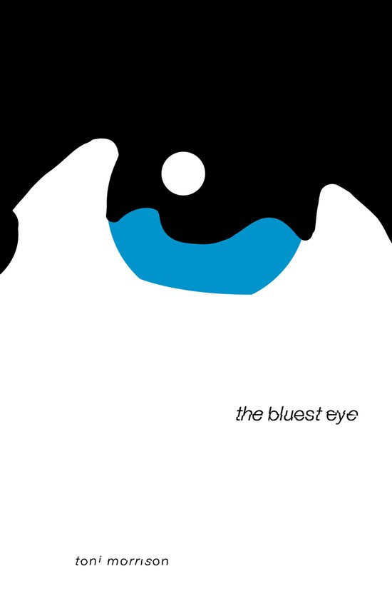 The Bluest Eye: Book Cover Redesign Art Print