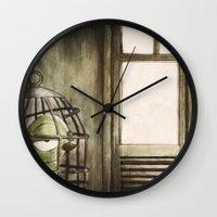 Le Samourai Wall Clock