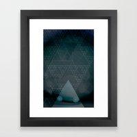 illuminate me night Framed Art Print