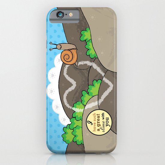 Lovebugs -I have such a great slime with you iPhone & iPod Case
