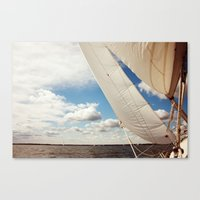 Out on the Chesapeake Canvas Print