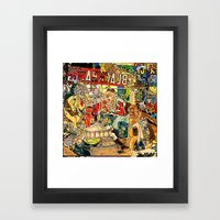 the daily lives of hungry ghosts Framed Art Print