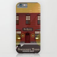 iPhone & iPod Case featuring sweeney todd  by danvinci