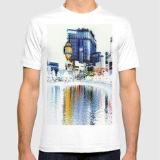 Polarized Mens Fitted Tee White SMALL