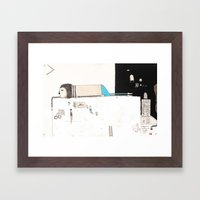 Forgive yourself and move on from your mistakes. Framed Art Print