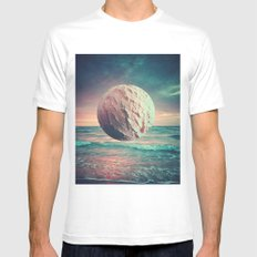 Iced Sun SMALL White Mens Fitted Tee
