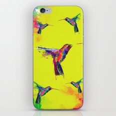 COLOUR EXPLOSION HUM iPhone & iPod Skin