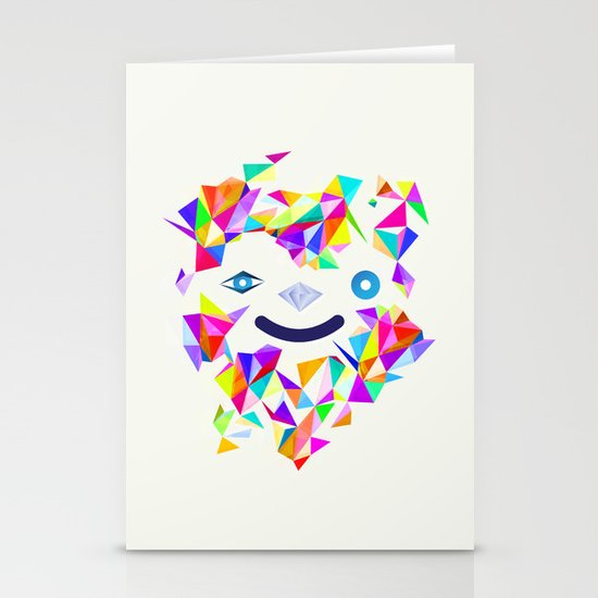 Chromatic character  Stationery Card