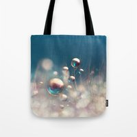 Sparkles & Drops Tote Bag