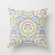 Nouveau Iris 2 Throw Pillow
