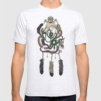 The Dream Catcher: Old Hag's Bane Mens Fitted Tee Ash Grey SMALL