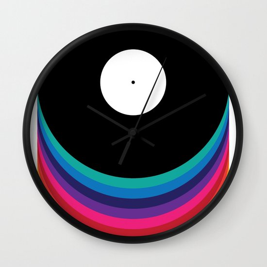Happy Music Wall Clock