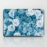 Bouquet ver.bluegreen iPad Case