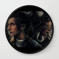Balthier And Fran Final … Wall Clock