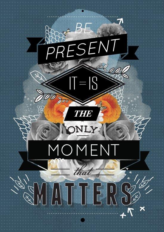 The Present Canvas Print