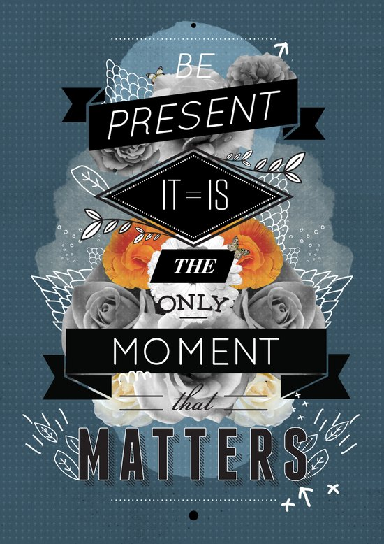 The Present Art Print