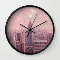 Stardust Covering New Yo… Wall Clock