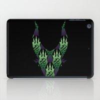SCORCH pattern ~ Maleficent  iPad Case