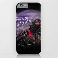 iPhone & iPod Case featuring Bug Girls: Napping Spider by Danielle Feigenbaum