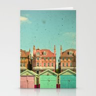 Stationery Cards featuring Promenade by Cassia Beck