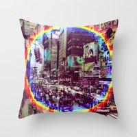 New York 6 Throw Pillow