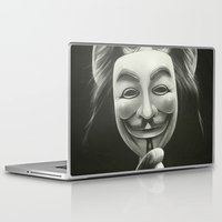 movie Laptop & iPad Skins featuring Anonymous by Dr. Lukas Brezak