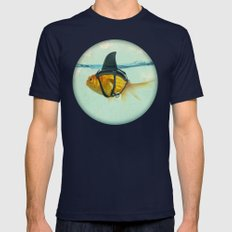 Brilliant DISGUISE Mens Fitted Tee Navy SMALL
