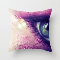 Coral Love Throw Pillow