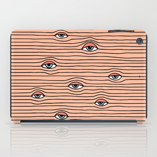 PEEPING TOM iPad Case